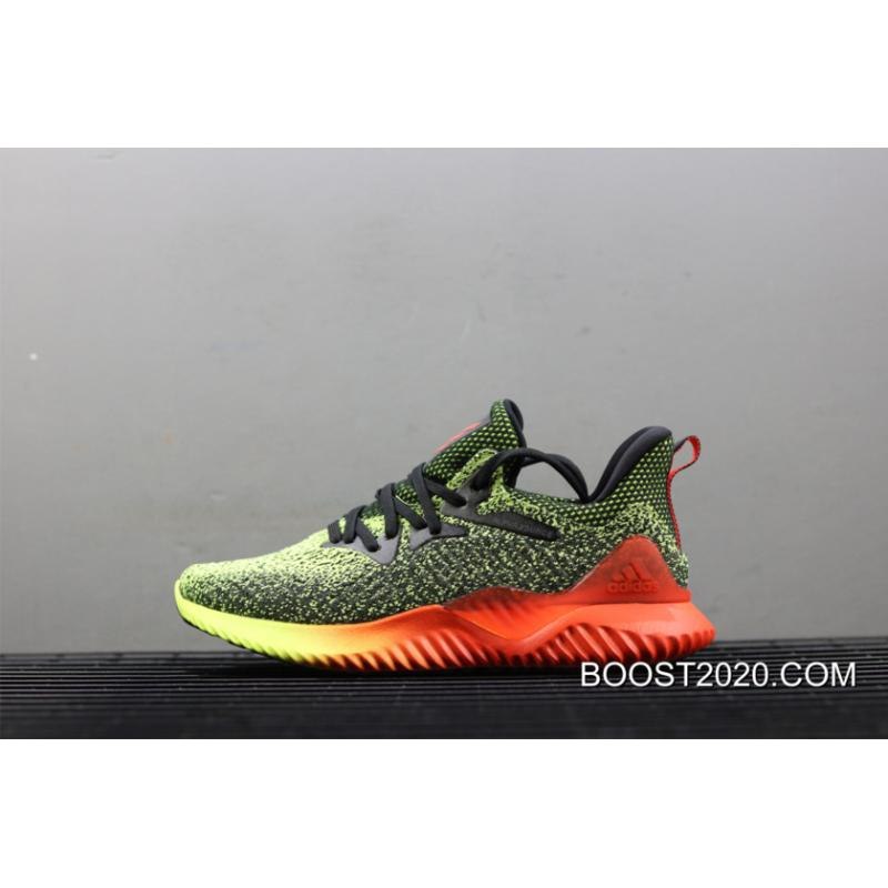 f3b103c9e Adidas AlphaBounce Beyond Yellow Red-Black Outlet New Year Deals ...