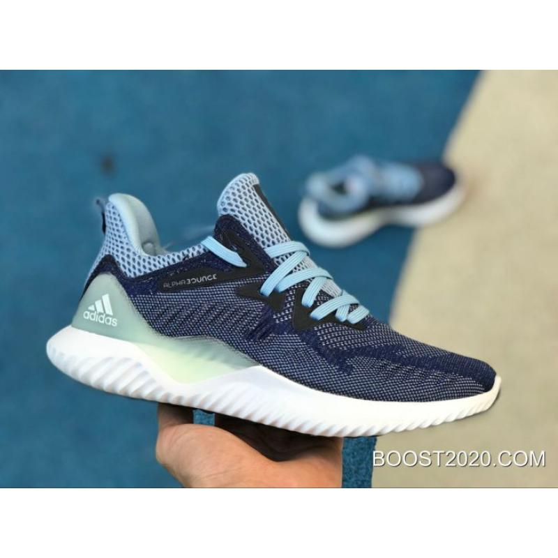 7f7a37bd8bd05 Women Adidas AlphaBounce Beyond Nobind Ashblu Outlet Authentic ...