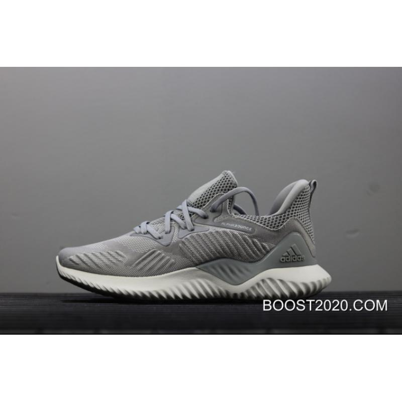 fa9d2293a838a Adidas AlphaBounce Beyond Triple Grey Outlet Authentic ...