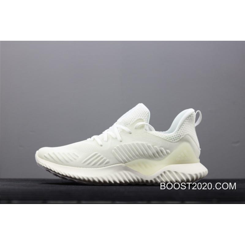 c95489dc28941 Outlet Buy Now Adidas AlphaBounce Beyond White   Silver Metallic ...