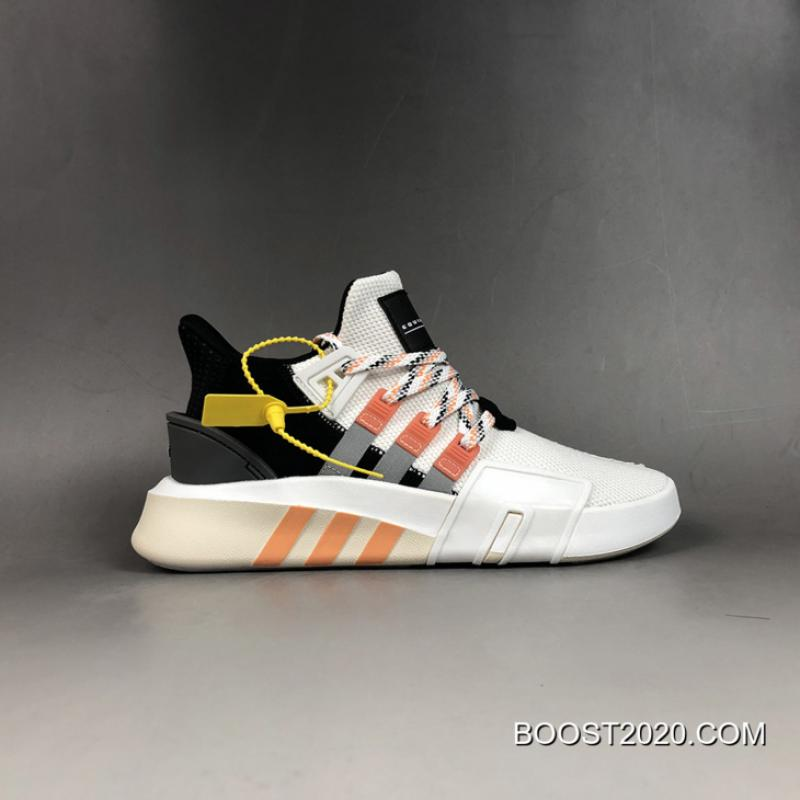 brand new cc2c0 694fa Outlet Outlet Adidas EQT Bask ADV Ftwr White/Grey Two/Easy Orange