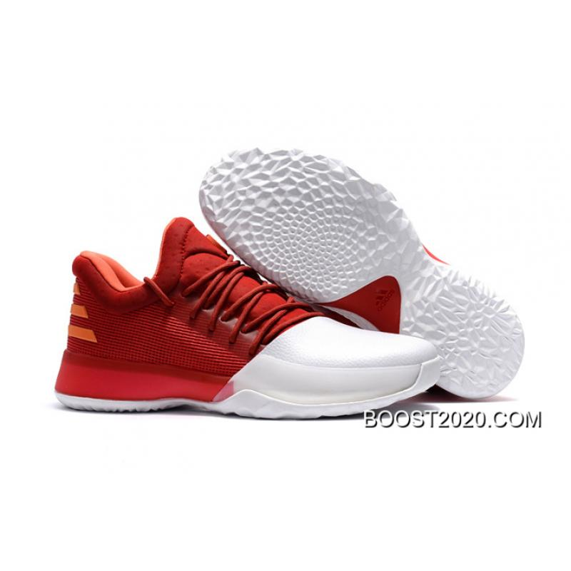 "wholesale dealer 953a5 81726 Adidas Harden Vol. 1 ""Home"" Farbe Scarlet Footwear White-Energy Latest ..."