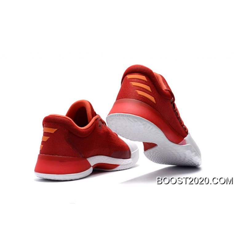 "huge selection of 489a8 f203e ... Adidas Harden Vol. 1 ""Home"" Farbe Scarlet Footwear White-Energy Latest  ..."
