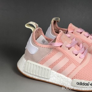 621d07ceb1771 ... Women Adidas NMD R1 W Pink White Gum Authentic ...