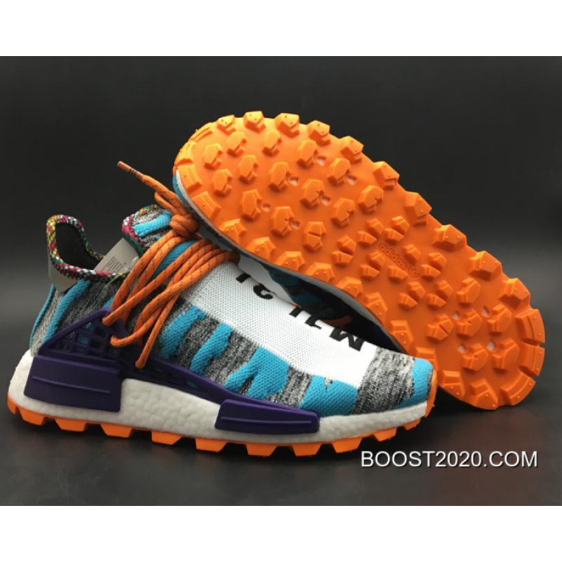 "ed1b93fe5d483 Women Men Outlet Outlet Pharrell X Adidas NMD Hu ""Solar Pack"" Hi-Res ..."