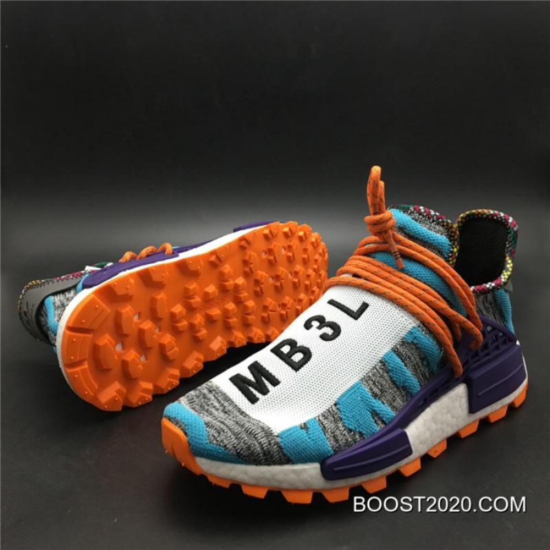 "17d597202ea28 ... Women Men Outlet Outlet Pharrell X Adidas NMD Hu ""Solar Pack"" Hi- ..."