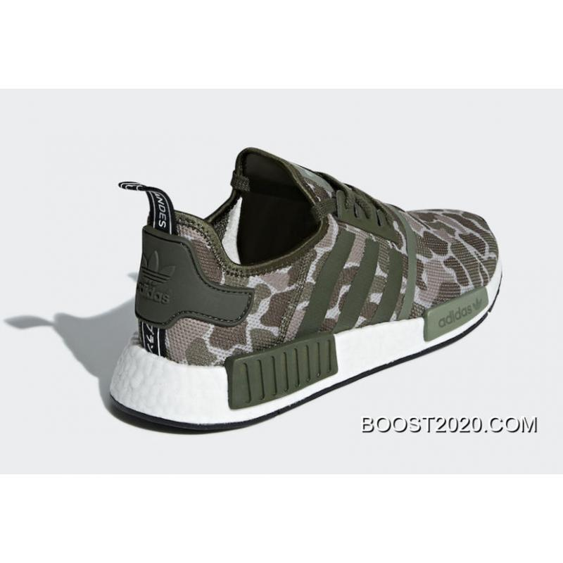 2051e54fcad3c ... Outlet Big Deals Adidas NMD R1  Camo  Sesame Steel-Base Green ...