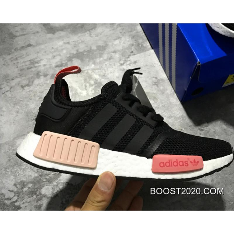 Adidas Nmd R1 Women Black White Red Outlet New Year Deals Price