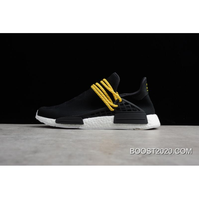 san francisco 8450d 90fa8 Outlet Best Pharrell X Adidas NMD Human Race Hue Man Triple Black