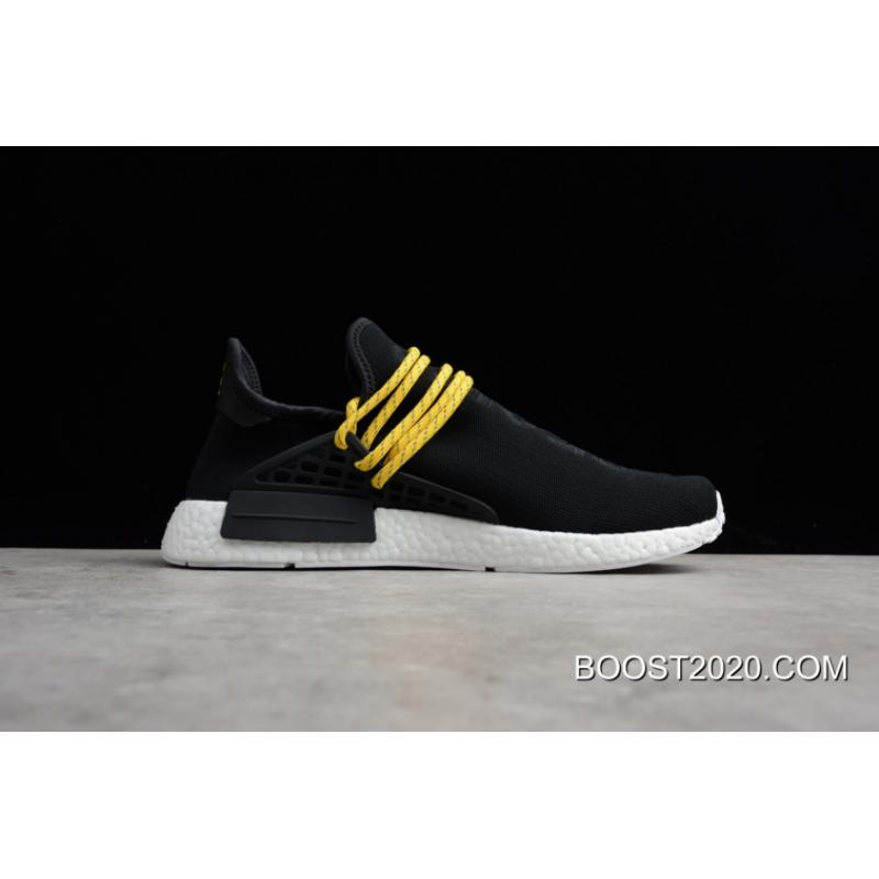 san francisco ce74e 432af Outlet Best Pharrell X Adidas NMD Human Race Hue Man Triple Black