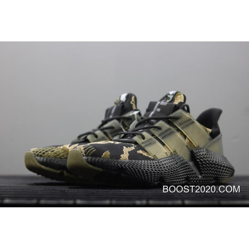 check out 68823 fe0b1 ... Women Men New Release UNDFTD X Adidas Prophere Core Black Trace  Olive-Raw ...