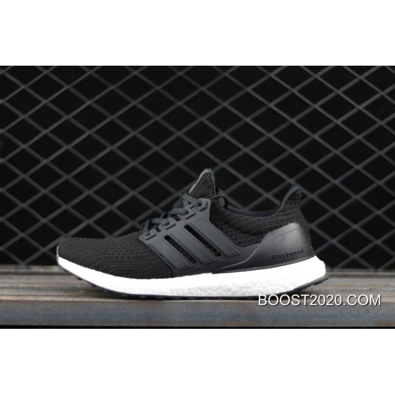 brand new 1b683 881a5 Women/Men Adidas Ultra Boost 4.0 Black White Outlet New Year Deals