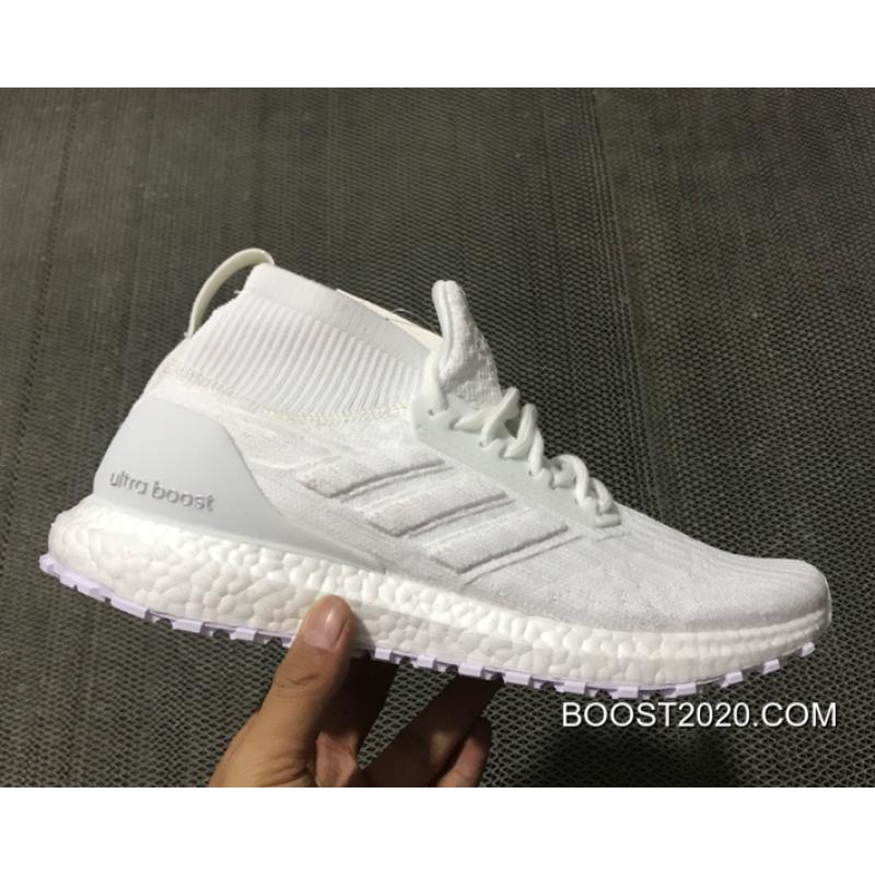 new concept ea530 0f4ed Adidas Ultra Boost ATR Mid 'Triple White' Outlet Online