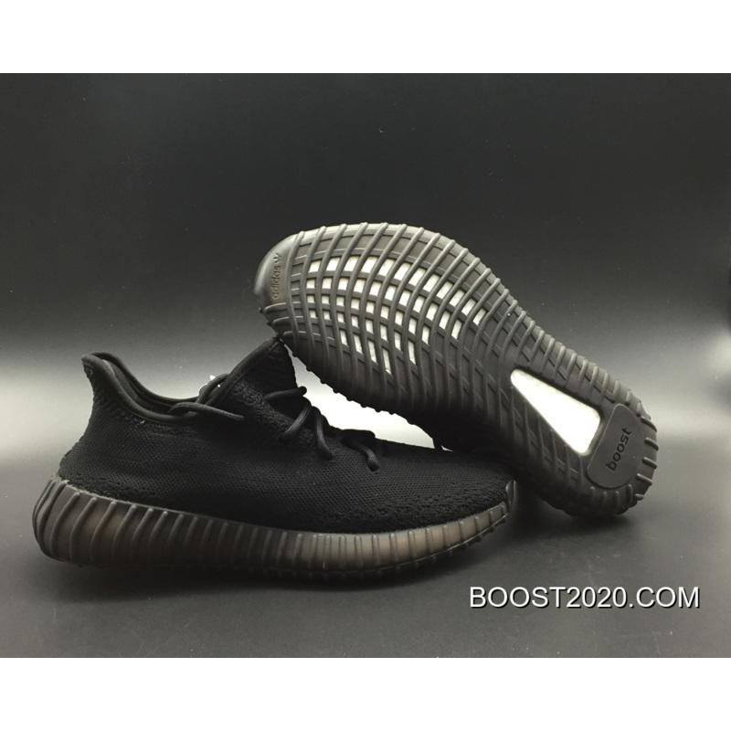 "a561be04db89f Women Men Adidas Yeezy Boost 350 ""Pirate Black"" Outlet Online ..."
