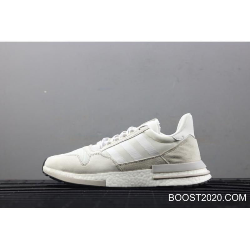 designer fashion 5f889 01267 Adidas ZX 500 RM White Grey Outlet New Style