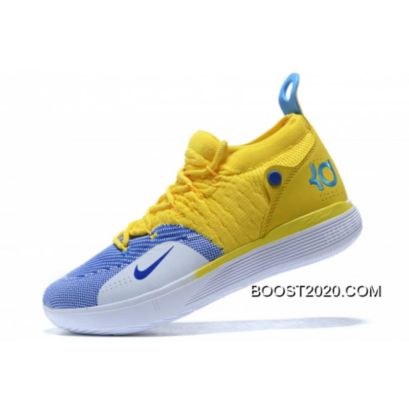 KD 11 Yellow Big Deals Nike KD 11 Yellow/Blue-White, Price: $88.00 - yeezy ...