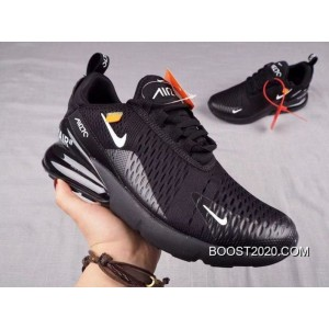 Men OFF WHITE X Nike Air Max 270 Running Shoe SKU:3013 267 For Sale