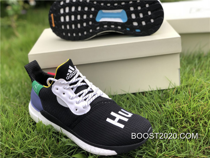d9a8f232d Pharrell X Adidas Solar Glide Hu ST Black Purple Super Deals
