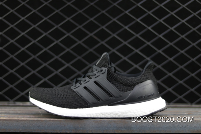 WomenMen Adidas Ultra Boost 4.0 Black White Outlet New Year