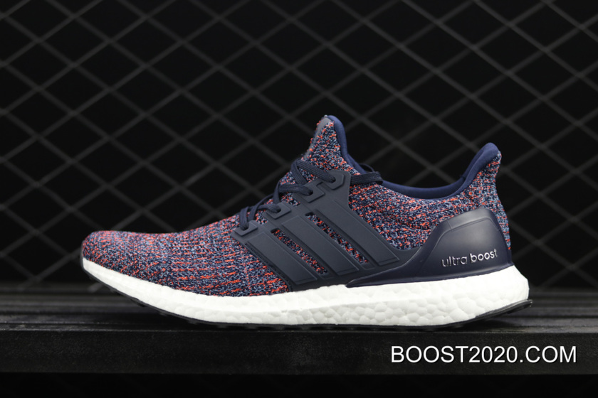 Adidas Ultra Boost 4.0 Navy Multicolor Free Shipping , yeezy boost ...