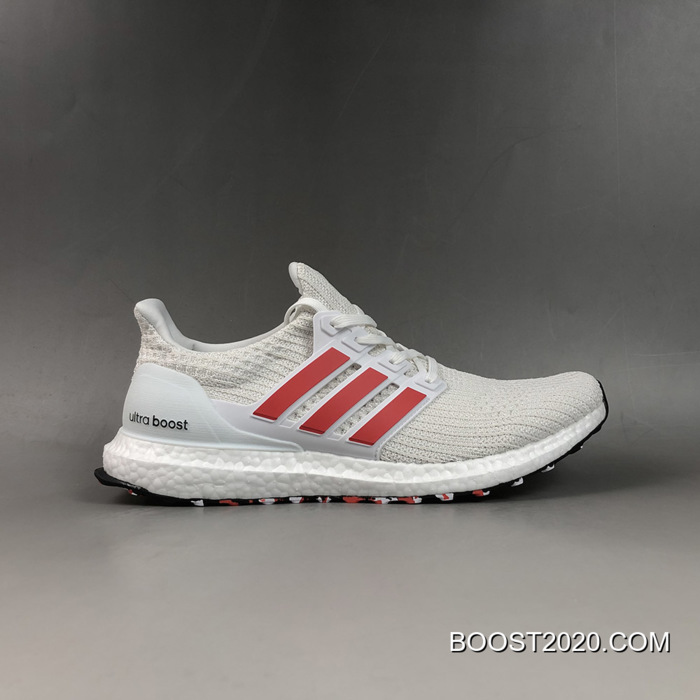 Adidas Ultra Boost 4.0 White Red Outlet