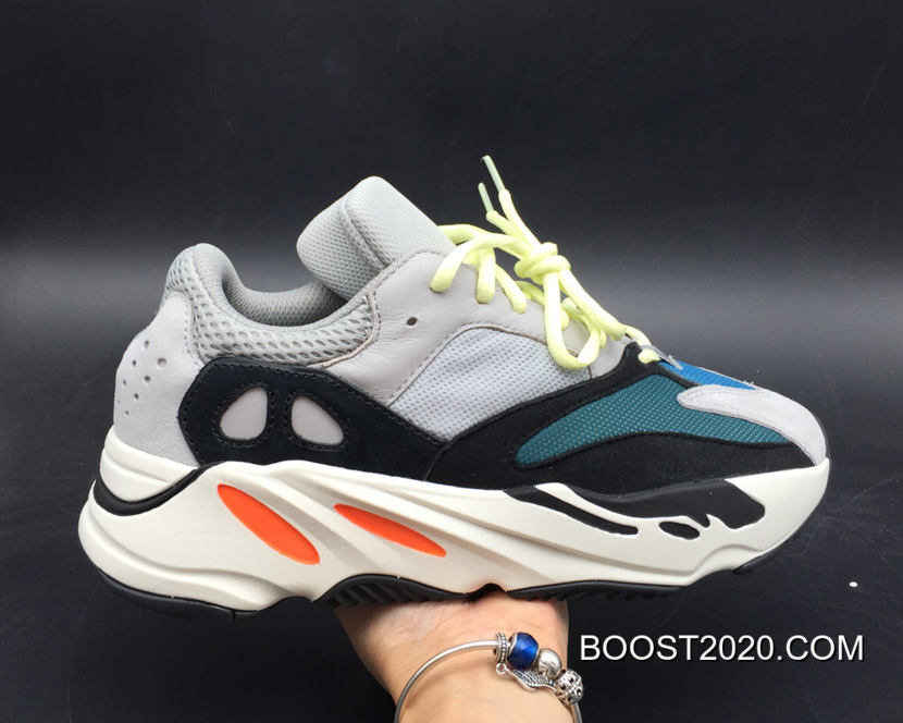 5c80bff20ccc7 Women Men Outlet Top Deals Adidas Yeezy Boost 700 Wave Runner Solid Grey  Chalk