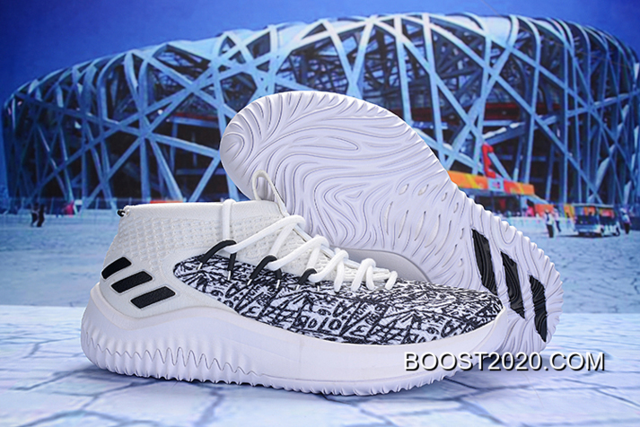 Authentic Adidas Dame 4 'Stats' Cloud